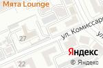 Схема проезда до компании Luxe-Telecom в Караганде