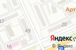 Схема проезда до компании Imperial Travel в Караганде