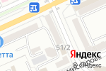 Схема проезда до компании Японика в Караганде