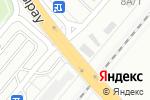 Схема проезда до компании Золотая подкова в Караганде