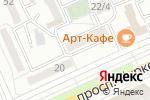 Схема проезда до компании Aura в Караганде