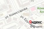 Схема проезда до компании Hyundai & Kia в Караганде