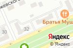 Схема проезда до компании Болашак в Караганде