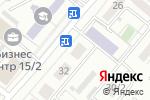 Схема проезда до компании Новый дизайн в Караганде