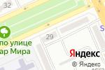 Схема проезда до компании Нalyk life в Караганде