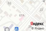 Схема проезда до компании Эгоистка в Караганде