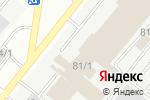 Схема проезда до компании Suzuki Center в Караганде