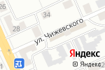 Схема проезда до компании Виктория в Караганде