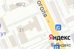 Схема проезда до компании Qube в Караганде