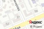 Схема проезда до компании amag.kz в Караганде