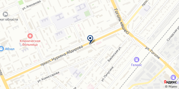 Tele 2 на карте Караганде