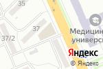 Схема проезда до компании Стиль в Караганде