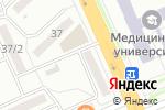 Схема проезда до компании Оптимист в Караганде