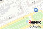 Схема проезда до компании LUXOR в Караганде