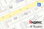 Схема проезда до компании Автомагия в Караганде