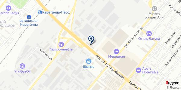 Clickme.kz на карте Караганде