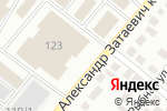 Схема проезда до компании Все для ванных комнат в Караганде