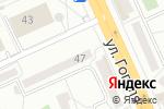 Схема проезда до компании Пышка в Караганде