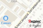 Схема проезда до компании Мир игрушек в Караганде