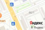 Схема проезда до компании Honda-centre в Караганде