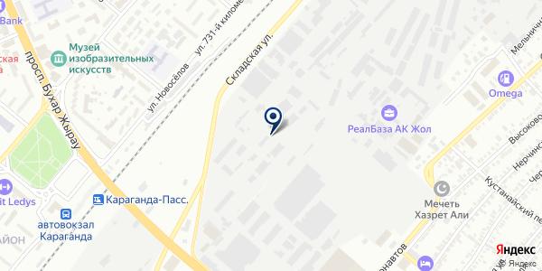 Нурай-сервис на карте Караганде