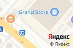 Схема проезда до компании Магазин бижутерия, фурнитуры и натуральных камней в Караганде