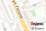 Схема проезда до компании 1000 вольт в Караганде