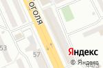 Схема проезда до компании Жар Птица в Караганде