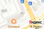 Схема проезда до компании Элит Тур в Караганде