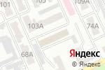 Схема проезда до компании Нотариус Баймагамбетова Д.С. в Караганде