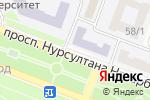 Схема проезда до компании Сириус в Караганде