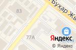 Схема проезда до компании Экспресс-кафе в Караганде