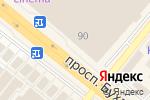 Схема проезда до компании Искусница в Караганде