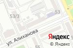 Схема проезда до компании Рамина тур KZ в Караганде