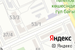Схема проезда до компании Beauty Bar в Караганде
