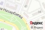 Схема проезда до компании Alisha в Караганде