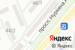 Схема проезда до компании ОT 3D в Караганде