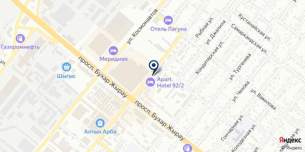 2ГИС на карте Караганде