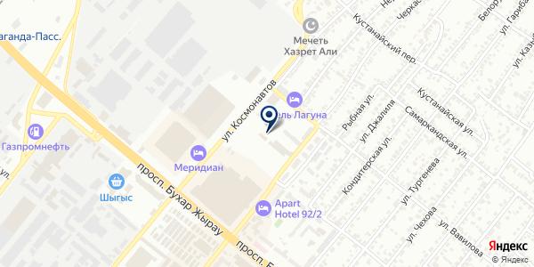 ЦентрПромБезопасность на карте Караганде