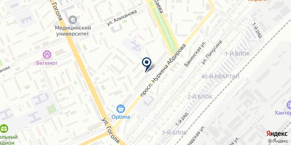 Даниал end Co, ТОО на карте Караганде