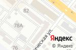 Схема проезда до компании Лязат в Караганде