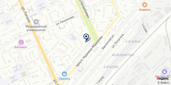 Гартекс, ТОО на карте Караганде