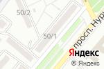 Схема проезда до компании Venteco, ТОО в Караганде