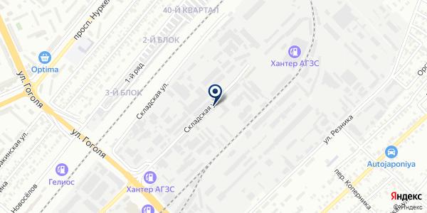 STC Com, ТОО на карте Караганде