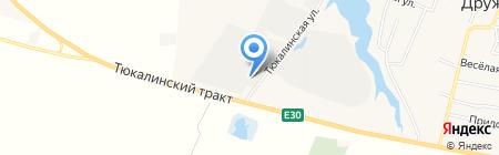 Прогресс на карте Омска