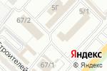 Схема проезда до компании Крамп-авто в Караганде
