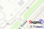 Схема проезда до компании Грация в Караганде