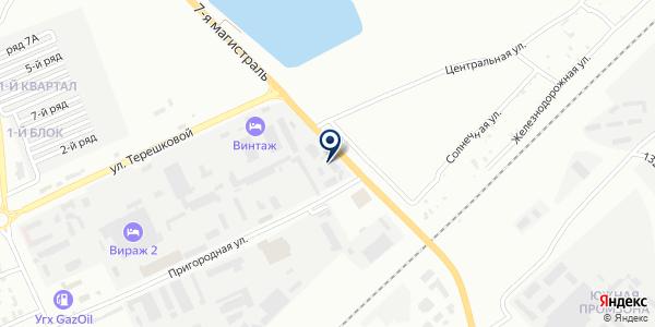 КарТехПромСнабжение, ТОО на карте Караганде