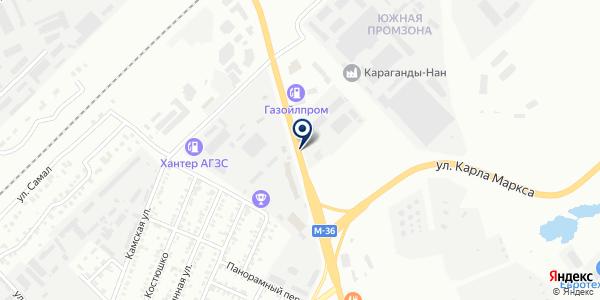 Автосервис на карте Караганде