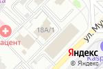 Схема проезда до компании Жень-шень в Караганде